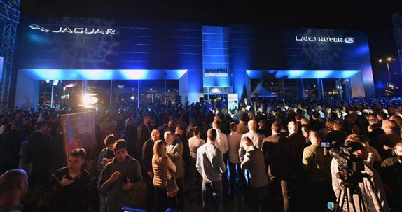 I u Srbiji otvoren Jaguar Rand Roverov salon