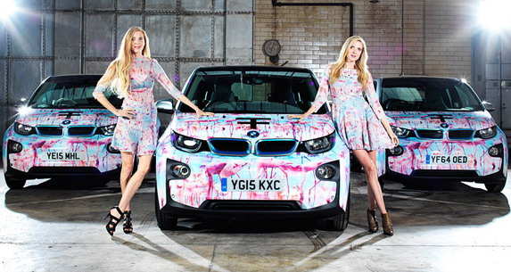 London Feshion Week i BMW i3