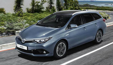 Rent a car Toyota Auris 1.6